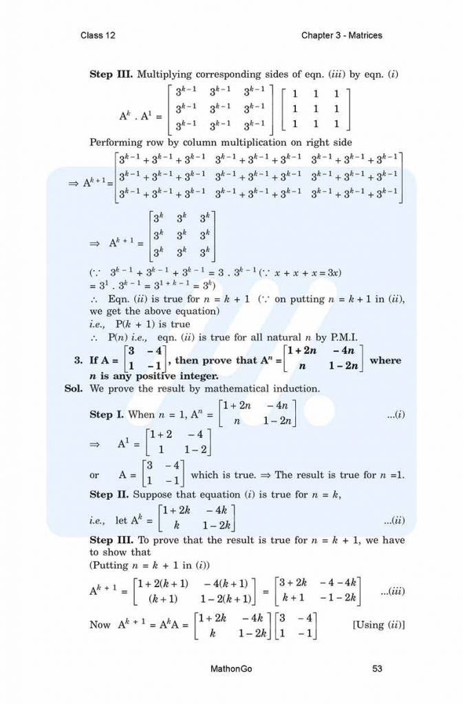 Chapter 3 - Matrices