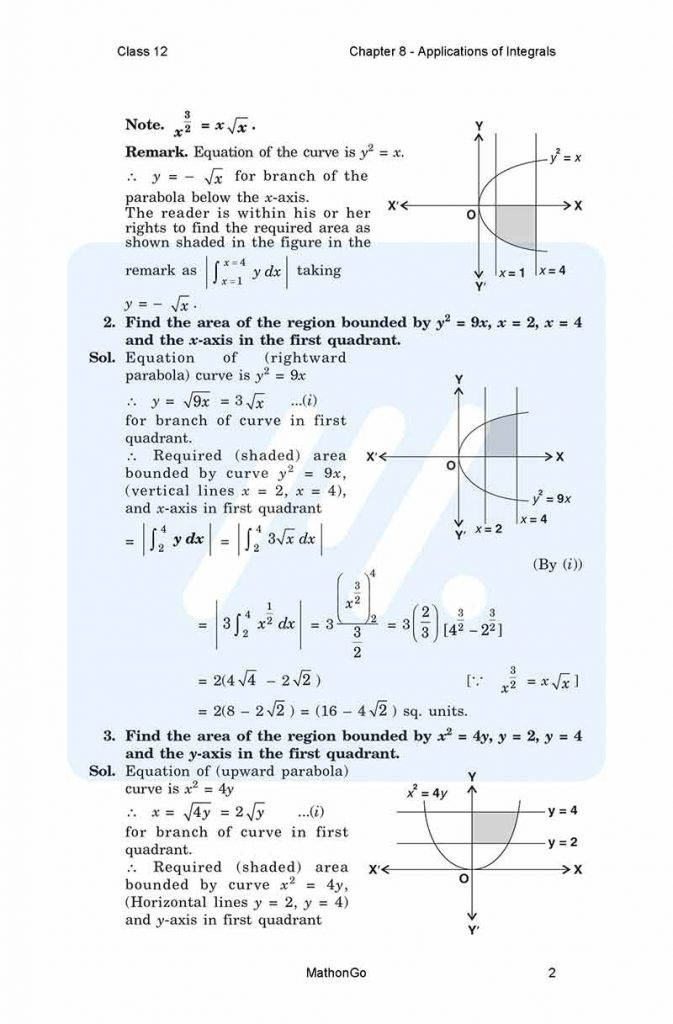 Chapter 8 - Applications of Integrals