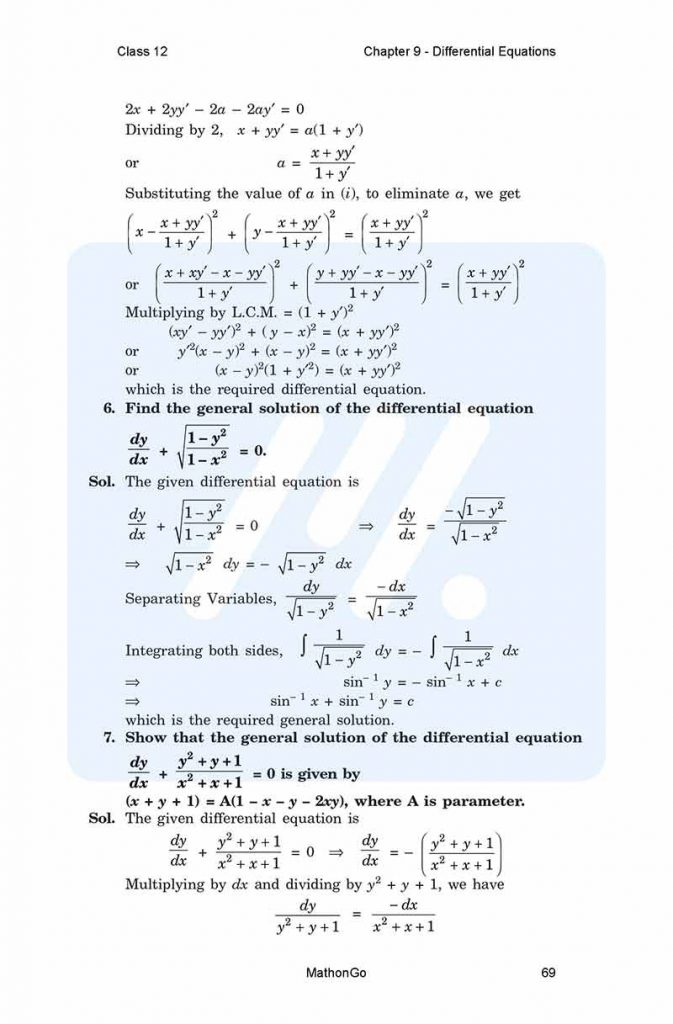 Chapter 9 - Differential Equations