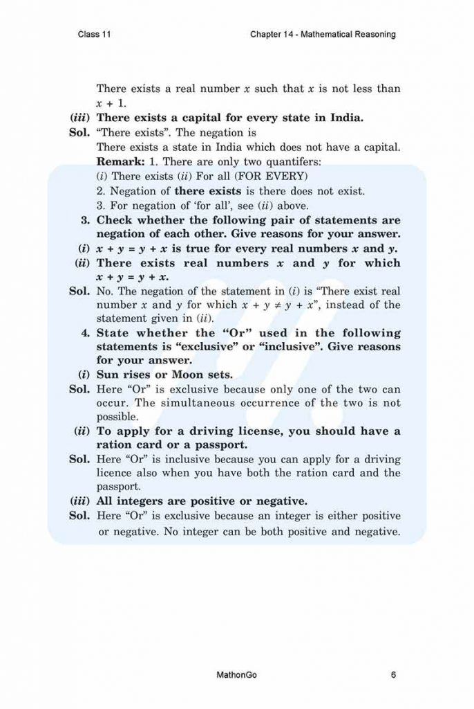 Chapter 14 - Mathematical Reasoning