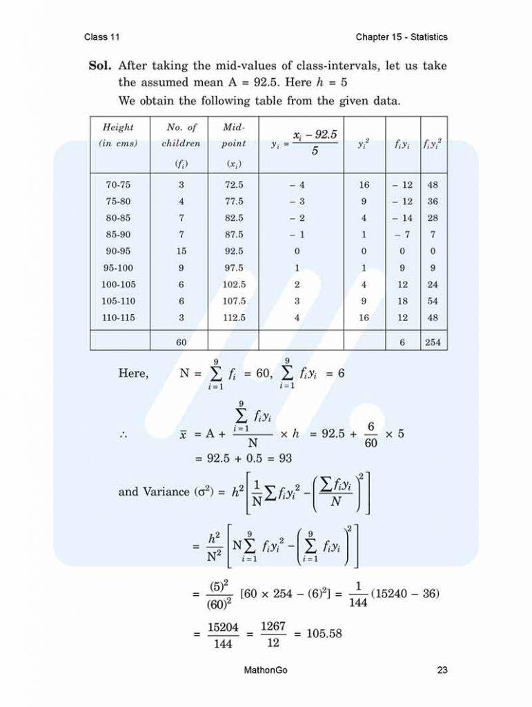 Chapter 15 - Statistics