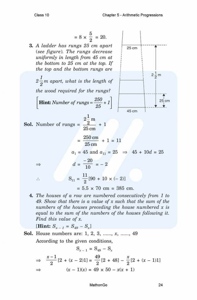 Chapter 5 - Arithmetic Progressions