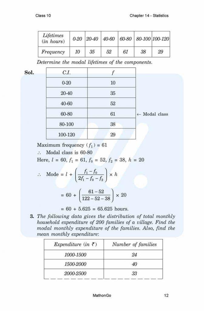 Chapter 14 - Statistics