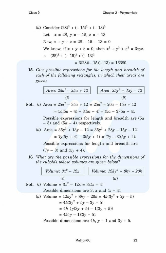 Chapter 2 - Polynomials