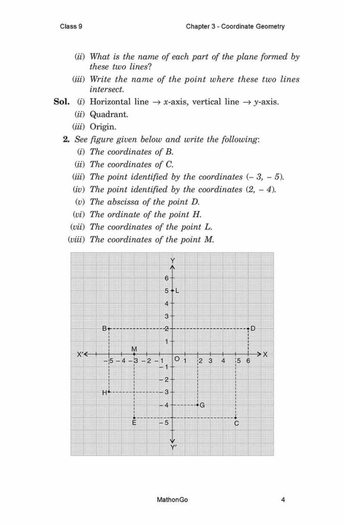 Chapter 3 - Coordinate Geometry