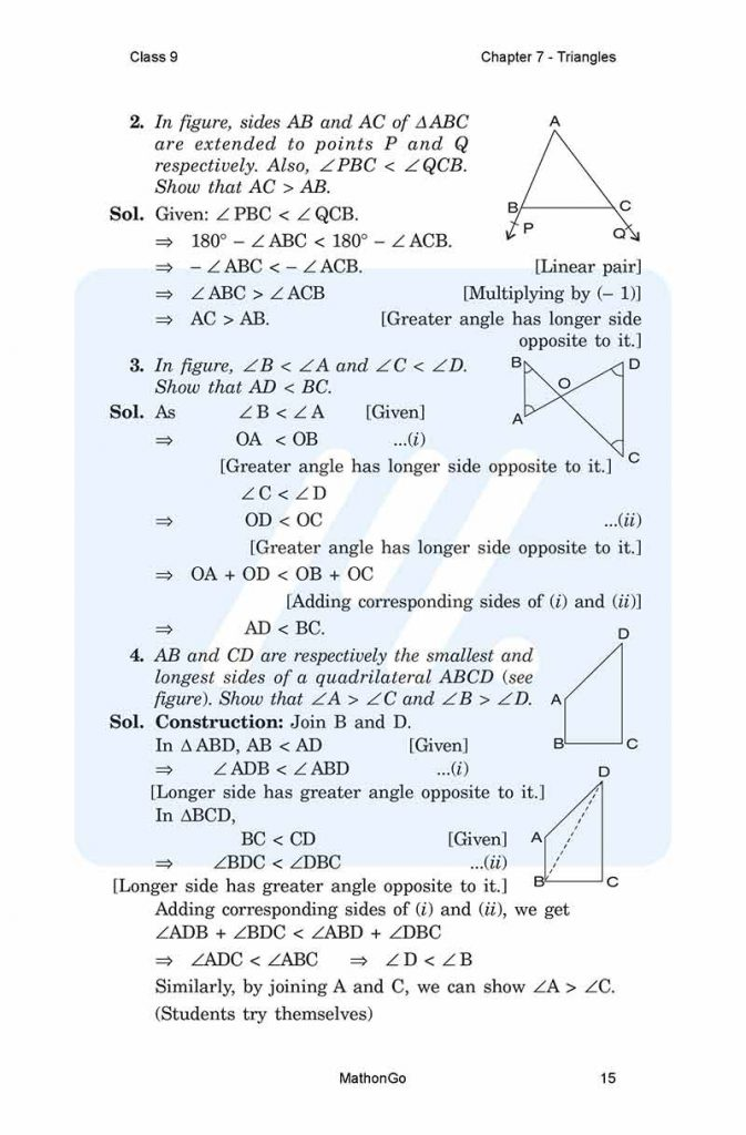 Chapter 7 - Triangles