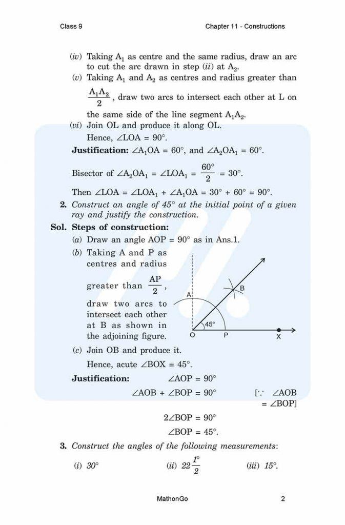 Chapter 11 - Constructions
