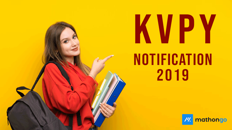 KVPY Notification 2019