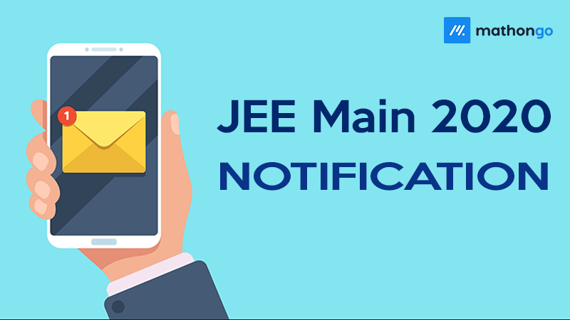 JEE Main Notification 2020