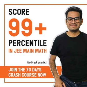 70 Days Crash Course for JEE Main 2020 Maths