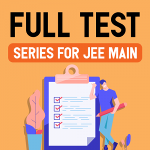 JEE Main 2020 Full Test Series