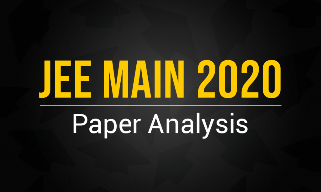 JEE Main 2020 Paper Analysis